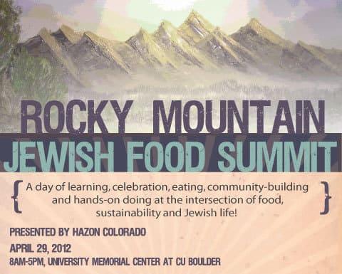Rocky Mountain Jewish Food Summit