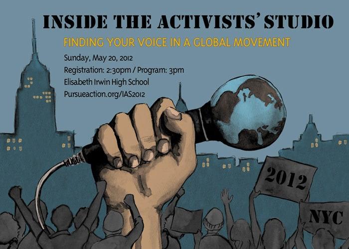 Inside the Activists' Studio 2012