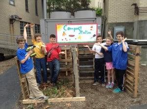 JCDSRI compost kids