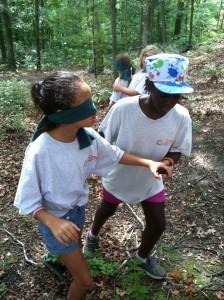blindfold walk