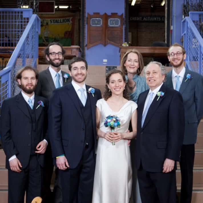 The Margulies Family: Rabbi Fred, Trisha, Elan, Ariel, Eli, and