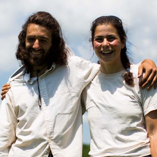 Miriam Goler and Mark Stonehill