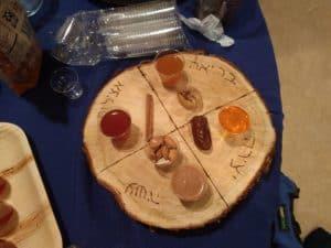 Tu BiShvat Seder Plate