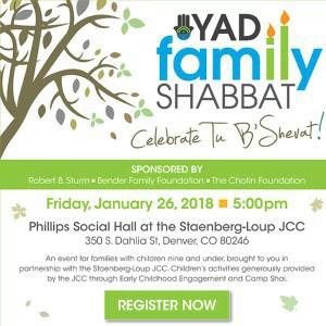 Hazon Colorado: YAD Family Shabbat