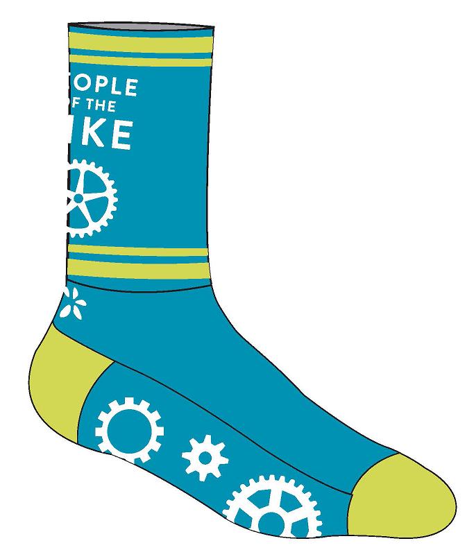 2018 Hazon socks