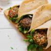 kale falafel square