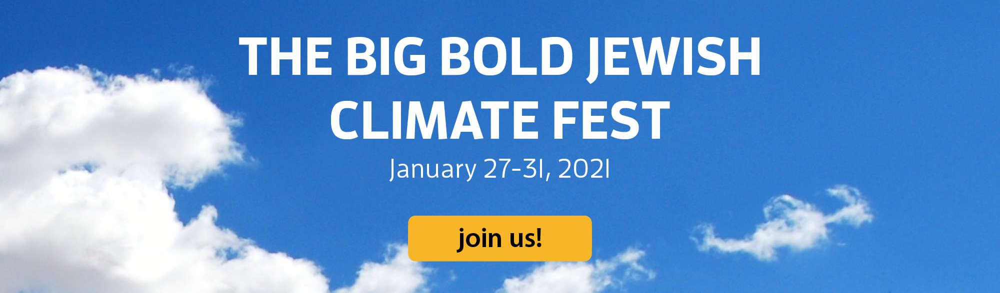 big bold jewish climate fest