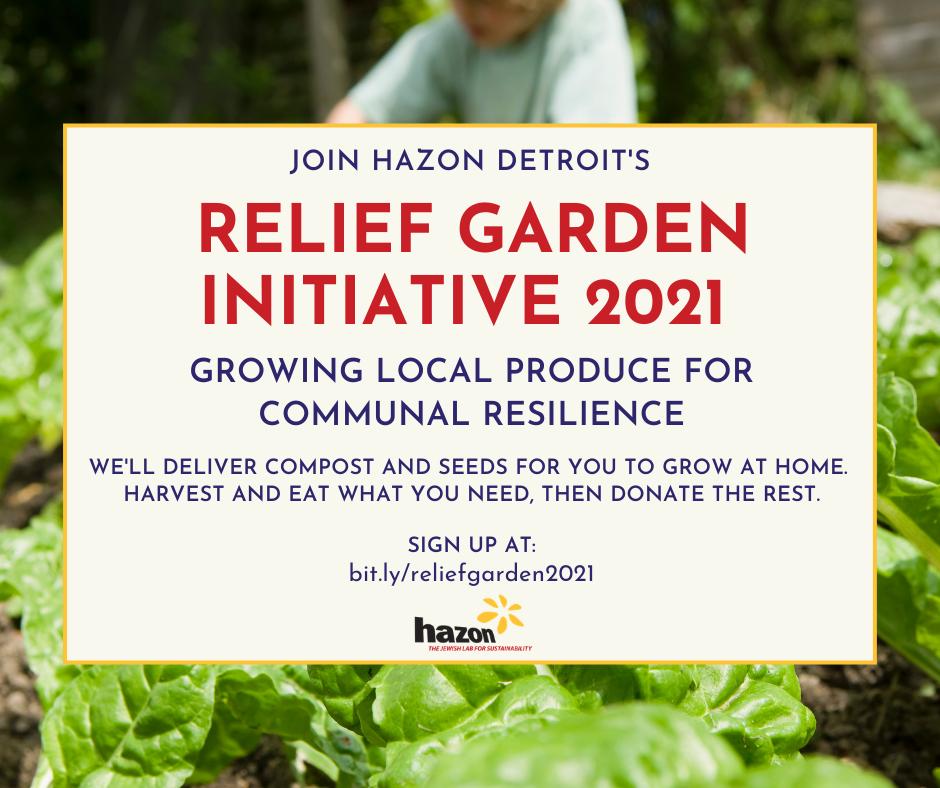 Relief Garden Initiative 2021